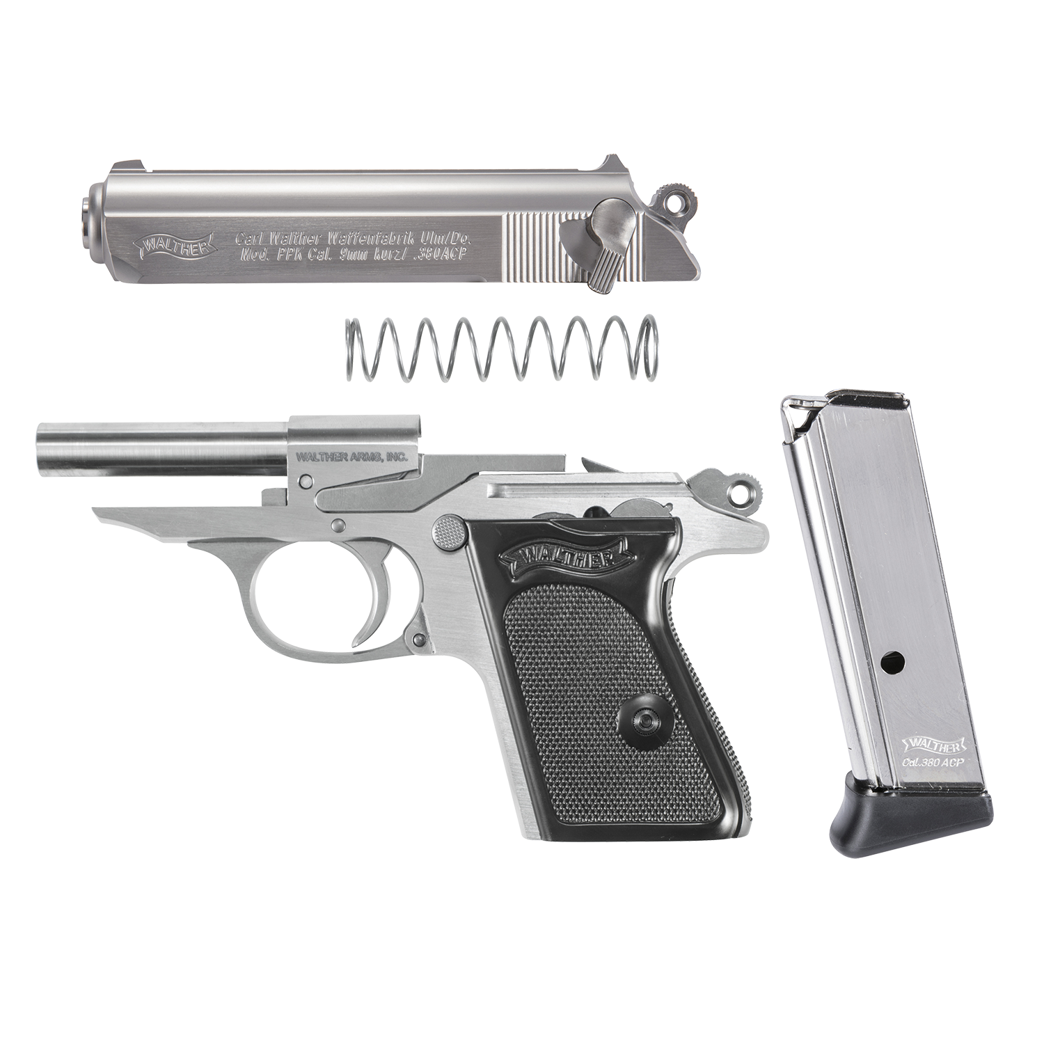 PPK | Stainless – www waltherarms com